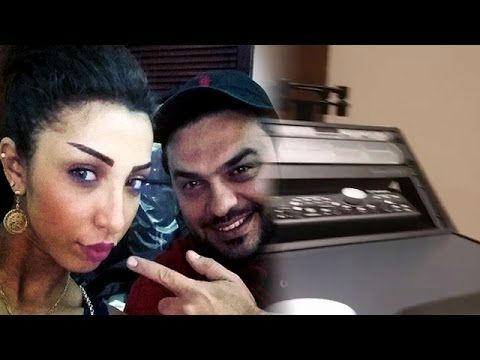 محمد الترك يفاجئ دنيا بطمة ويهديها استوديو للتسجيل خاص بها