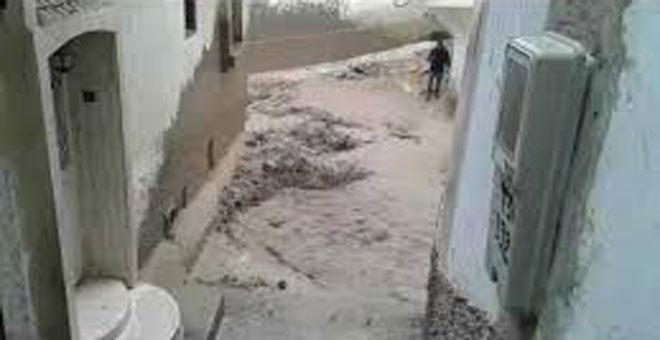 خطير! فيضانات مدمرة بمدينة مولاي ادريس زرهون