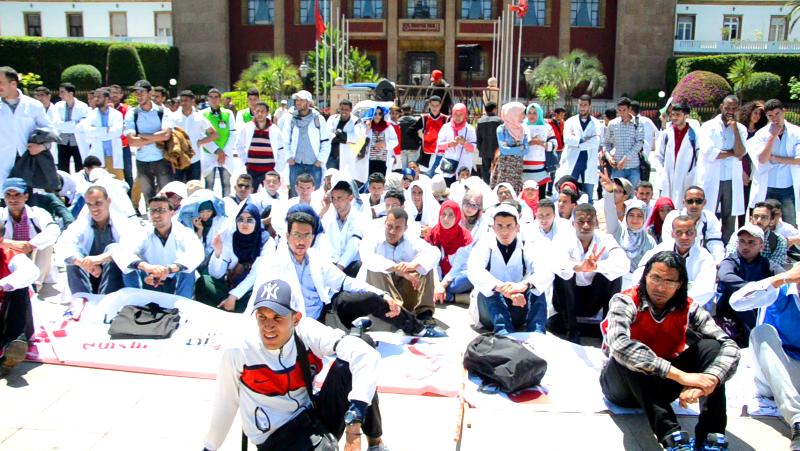 خريجو المدارس العليا للأساتذة يستعدون لمسيرة وطنية بمراكش