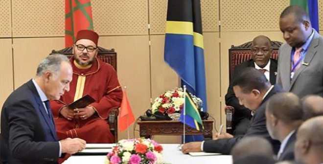 الملك محمد السادس يترأس توقيع 22 اتفاقية مهمة مع تنزانيا