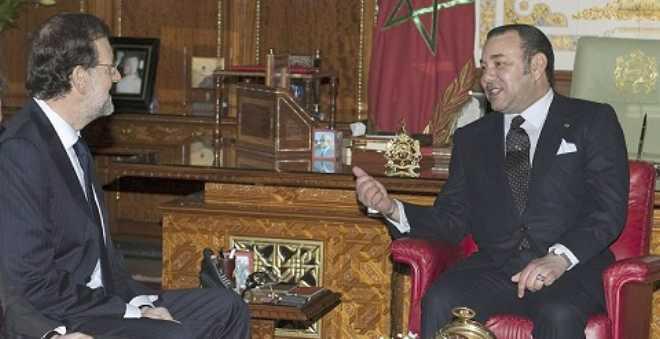 الملك يهنئ راخوي لنيله ثقة البرلمان ويؤكد على التعاون ضد العنف والإرهاب