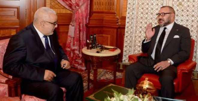 الملك محمد السادس يستقبل بنكيران ويكلفه بتشكيل الحكومة