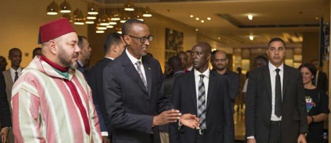 الرئيس الرواندي: على قادة الدول الإفريقية الاقتداء بخطوات الملك