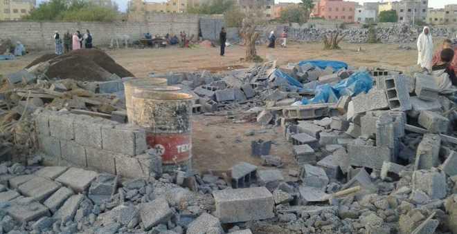 السلطات المحلية تهدم حوالي 10 منازل ببني ملال وسكانها ينتفضون