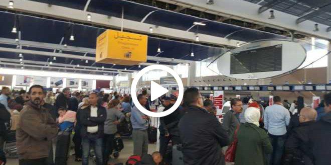 ارتباك وشلل في مطار محمد الخامس بسبب إضراب مفاجئ!