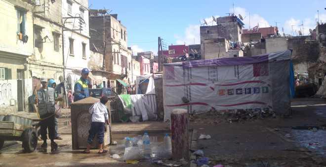 الأمطار تجدد مخاوف سكان المدينة القديمة بالبيضاء من انهيار المنازل المتصدعة