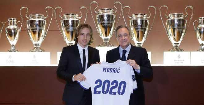 مودريتش : أريد تحقيق الليغا مع ريال مدريد