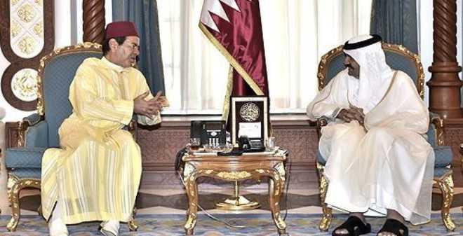 الأمير مولاي رشيد يمثل الملك محمد السادس في تقديم التعازي لأمير قطر