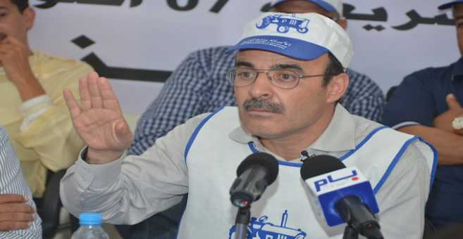 الأمين العام المحلي للبام بالريف يقدم استقالته بسبب الحراك!
