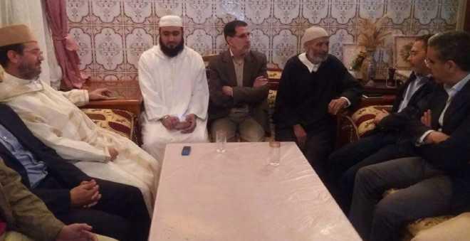 العثماني يقود وفدا من العدالة والتنمية في زيارة عزاء لأسرة محسن فكري