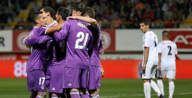 ريال مدريد يدك شباك خصمه كولتورال بسباعية في كأس ملك اسبانيا