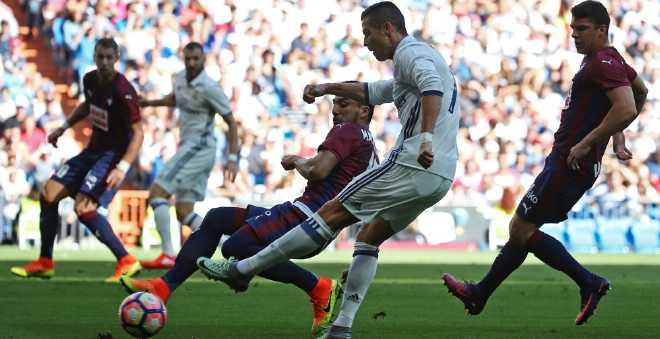 ريال مدريد يسقط في فخ التعادل من جديد بالدوري الاسباني