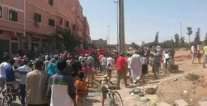 فواتير الماء والكهرباء تُخرج سكان بني ملال للاحتجاج ضد الغلاء