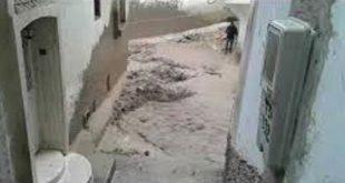فياضانات بمدينة مولاي ادريس زرهون