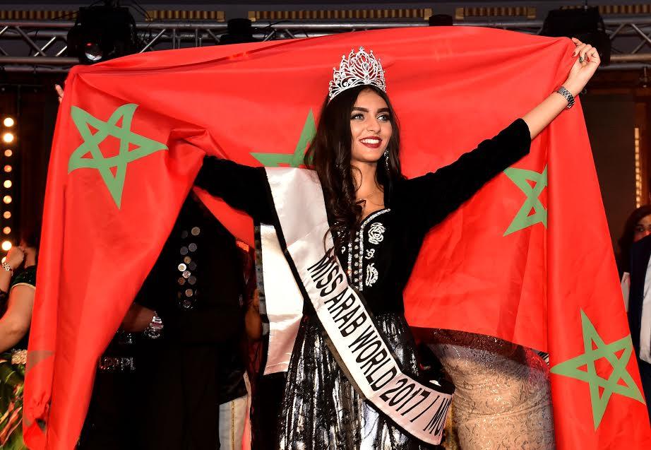 بالصور: شيماء العربي تفوز بلقب ملكة جمال المغرب