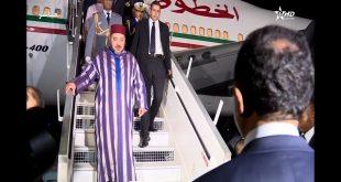 شاهد.. مدغشقر تستقبل الملك بالورود