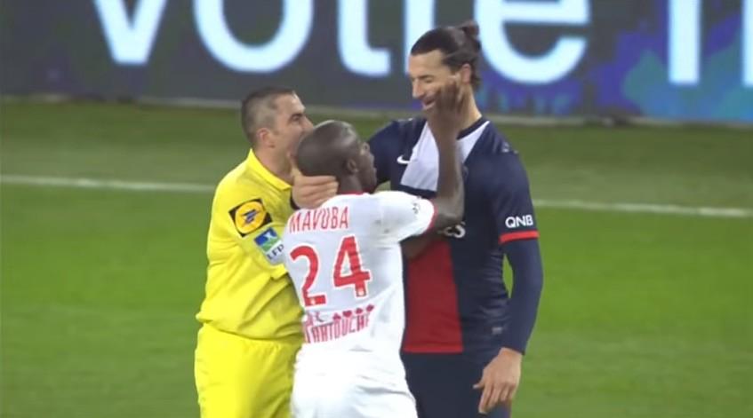 اللاعب الوحيد الذي تجرأ و أسقط إبراهيموفيتش أرضا