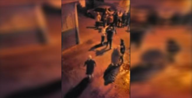 فيديو.. لحظة إطلاق النار على مجرم بمدينة سلا