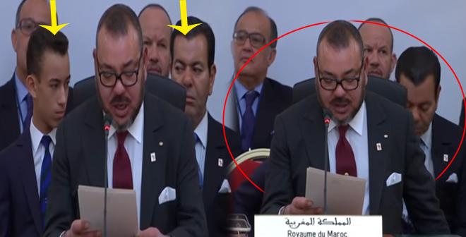الأمير رشيد و ولي العهد يبحثان عن شيء وراء الملك محمد السادس!