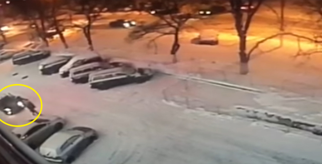 لحظة مقتل بطل عالم روسي للكيك بوكسينغ في موسكو وإلقاء القبض على المشتبه به