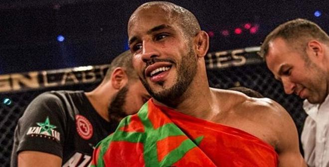 الملاكم المغربي أبو زعيتر يفوز بالضربة القاضية في الدقيقة الأولى