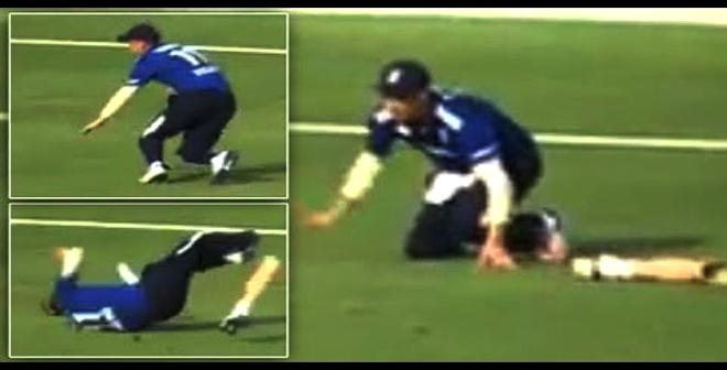 اقتُلعت قدمه الإصطناعية خلال المباراة .. وهذا ما حدث!!