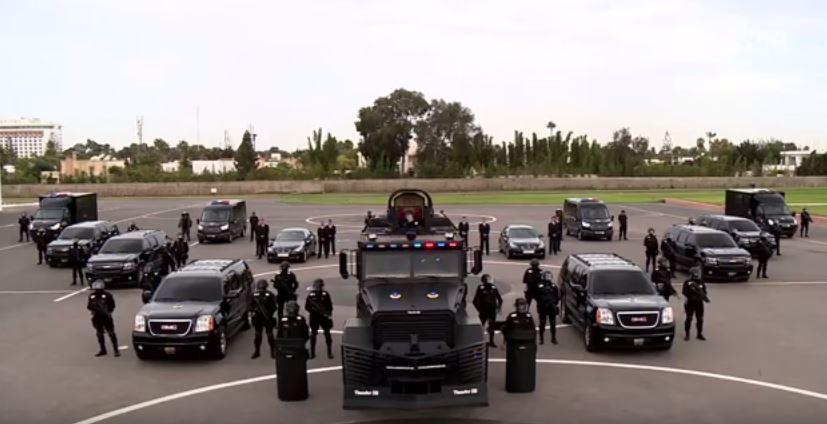 هذا هو الأسطول الأمني الرهيب الذي سيتولى تأمين