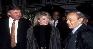 صورة دونالد ترامب مع الحسن الثاني