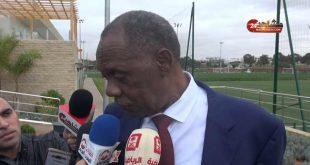 عيسى حياتو يبدي إعجابه بالبنية التحتية لكرة القدم بالمغرب