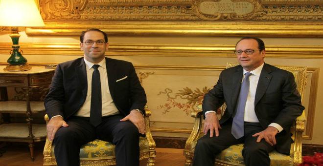رئيس الحكومة التونسية يدعو فرنسا لتعزيز التعاون الأمني