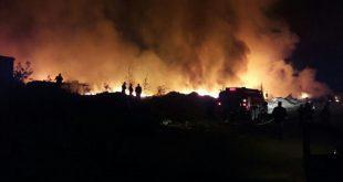 حريق يلتهم كريان الغفلة بحي مولاي رشيد بالبيضاء