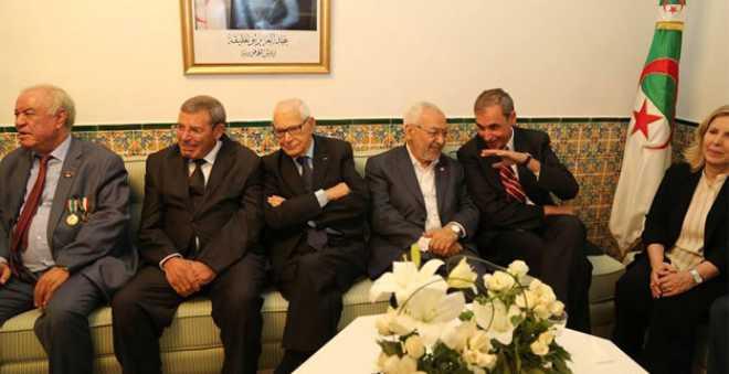 الغنوشي من داخل سفارة تونس بالجزائر: