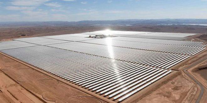 """مشروع """"نور"""" للطاقة الشمسية"""
