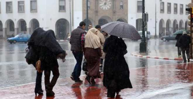 أجواء ماطرة وصقيع بهذه المناطق في المغرب غدا الاثنين