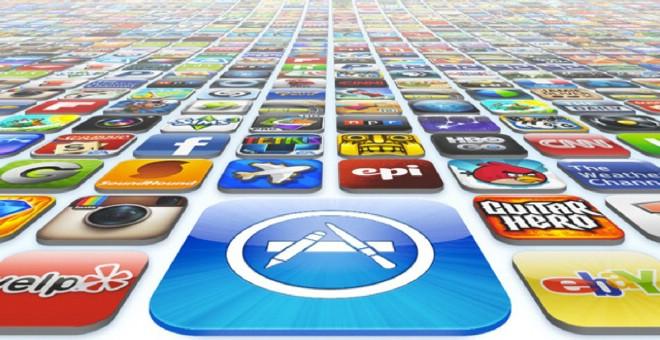 انفاق حوالي 89 مليار دولار في 2017 لشراء التطبيقات على APP store و Google play