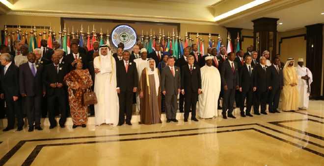 انسحاب وفود عربية من القمة العربية- الإفريقية بسبب مشاركة البوليساريو