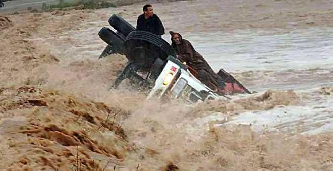 أزيلال. جماعة تاكلفت وعدة مناطق في عزلة تامة بسبب الأمطار!
