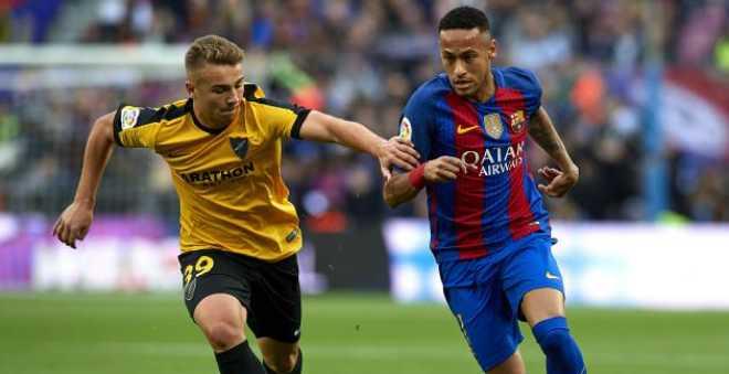 برشلونة يسقط في فخ مالاجا ويمنح هدية للريال!