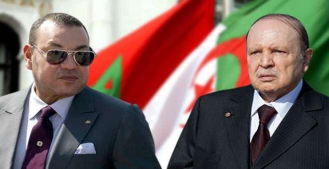 الملك يؤكد لبوتفليقة حرصه على توطيد علاقات التعاون لبناء صرح المغرب الكبير