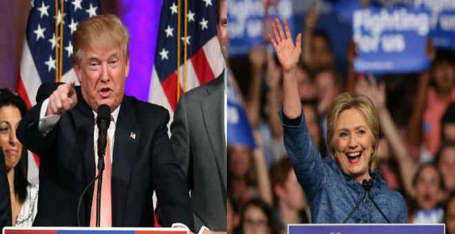 لمن تقرع اجراس الفوز  في سباق البيت الأبيض؟ المغاربة يفضلون هيلاري