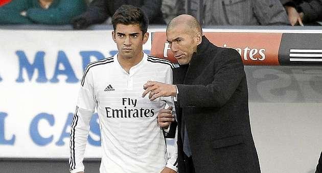 زيدان فخور بتألق نجله مع ريال مدريد
