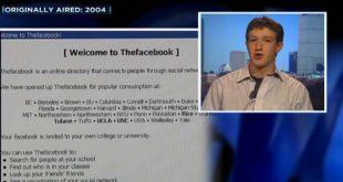 حوار تلفزي يعود لسنة 2004 مع مؤسس فايسبوك. طموحي الوصول إلى 400 مستخدم