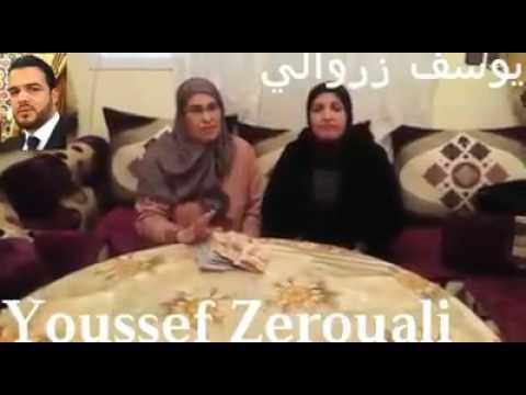 حصري شاهد والدة يوسف الزروالي تسلم مبلغ 35000 درهم للسيدة المكلومة