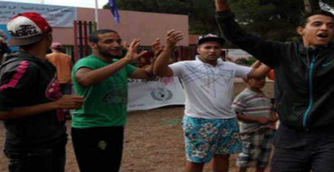 منظمة بدائل للطفولة والشباب تحتج ضد اعدام مخيم  الهرهورة