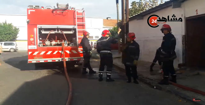 ''الشارجور'' يشعل النيران من جديد بشقة بالبيضاء