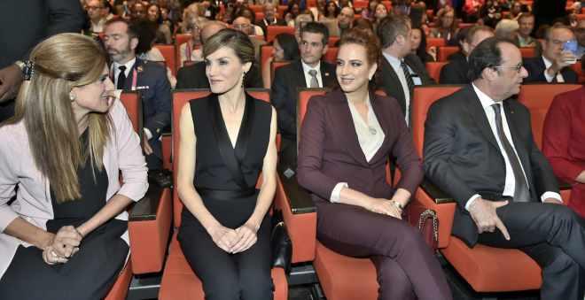 الأميرة للاسلمى تحضر أشغال المؤتمر العالمي ضد السرطان بباريس