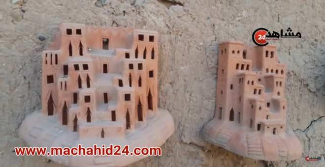 صناعة الفخار بمنطقة زاكورة