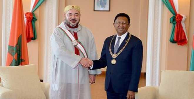 الرئيس الملغاشي: زيارة الملك محمد السادس لمدغشقر تحمل رمزية قوية