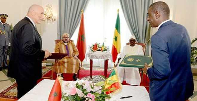 الملك والرئيس السنغالي يطلقان بدكار مشروع إحداث مركز للتكوين مخصص للمقاولة