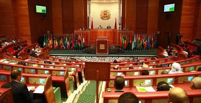مجلس المستشارين يصادق بالإجماع على قانون الاتحاد الإفريقي